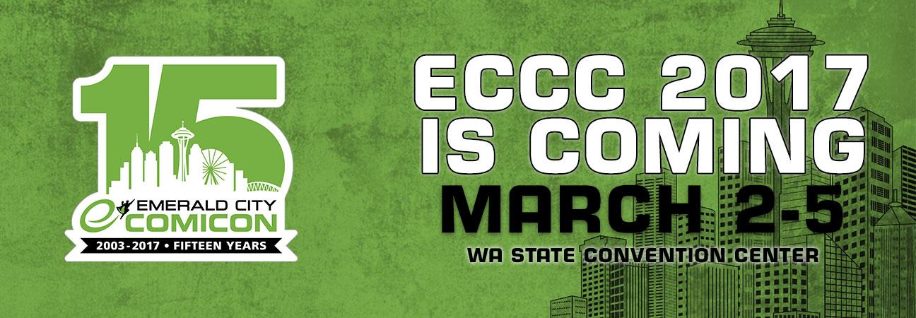 Ya queda poco para la  Emerald City Comic Con