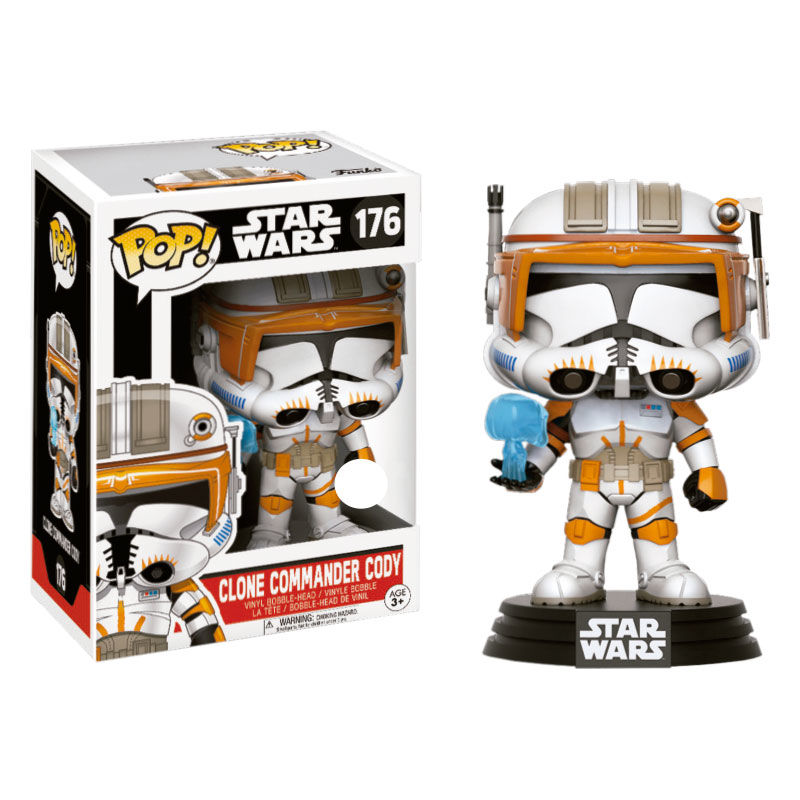 Funko Pop Star Wars Comandante Clon Cody