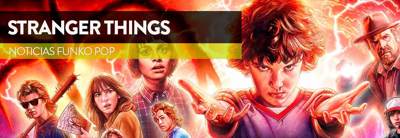 Nuevas figuras de la exitosa serie Stranger Things