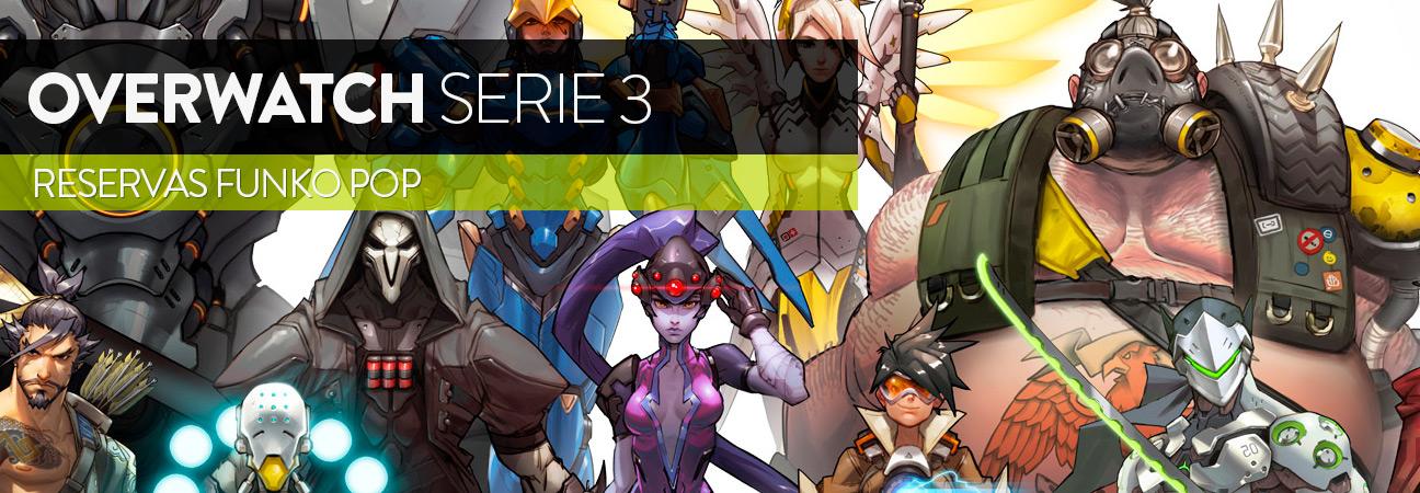 Reservas Overwatch serie 3, válidas hasta el 31 de enero