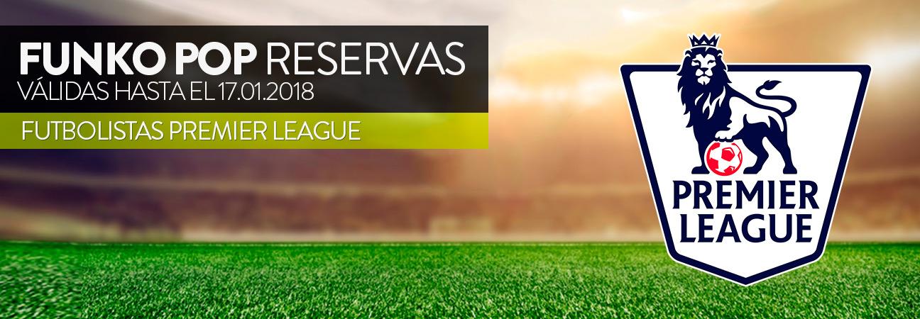 Reservas futbolistas Premier League, válidas hasta el 17 de enero