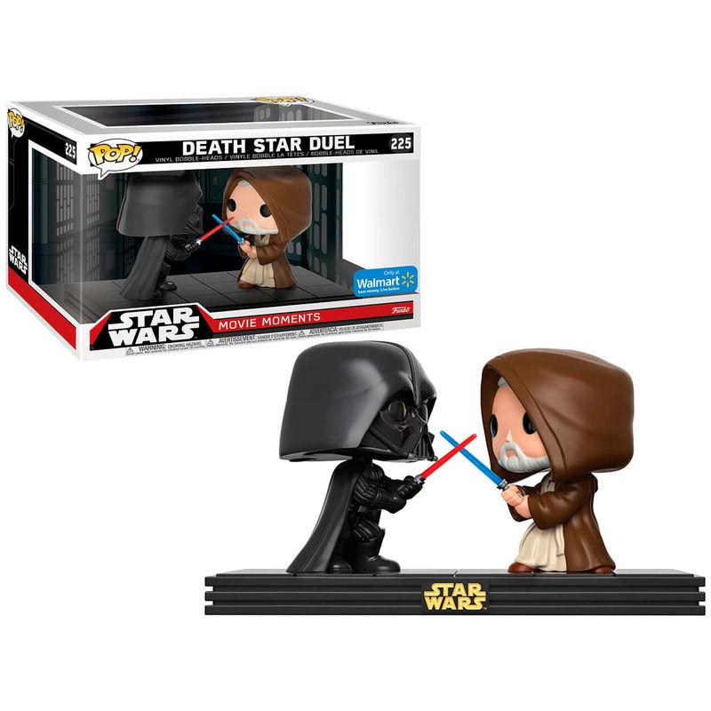 Funko Pop Star Wars Duelo Darth Vader Y Obi Wan Kenobi
