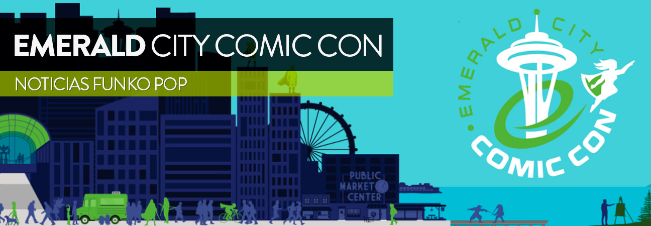 ECCC2018: del 1 al 4 de marzo llega la Emerald City Comic Con
