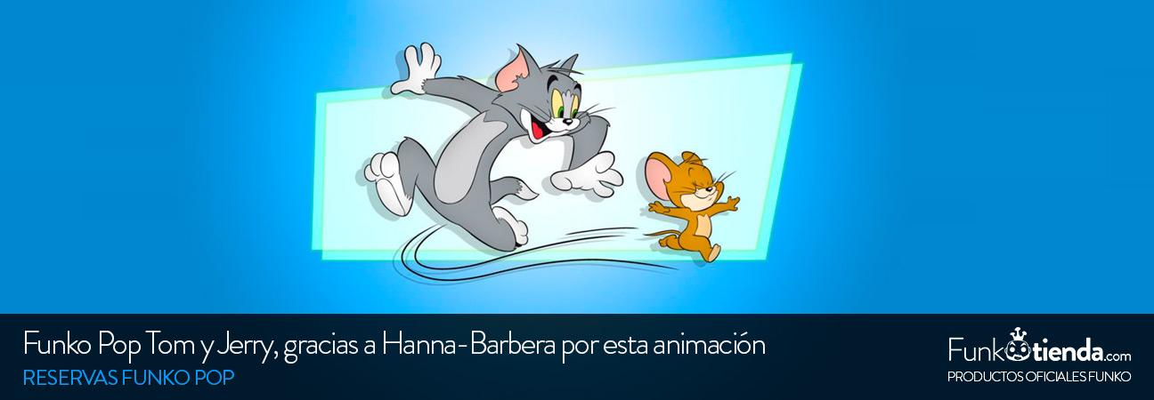 Reserva las figuras Pop de Tom y Jerry, un producto de Hanna-Barbera