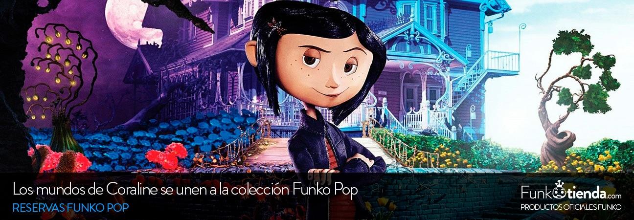 Los mundos de Coraline se unen a la colección Funko Pop