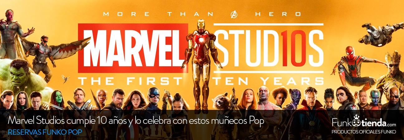 Marvel Studios cumple 10 años y lo celebra con estos muñecos Pop