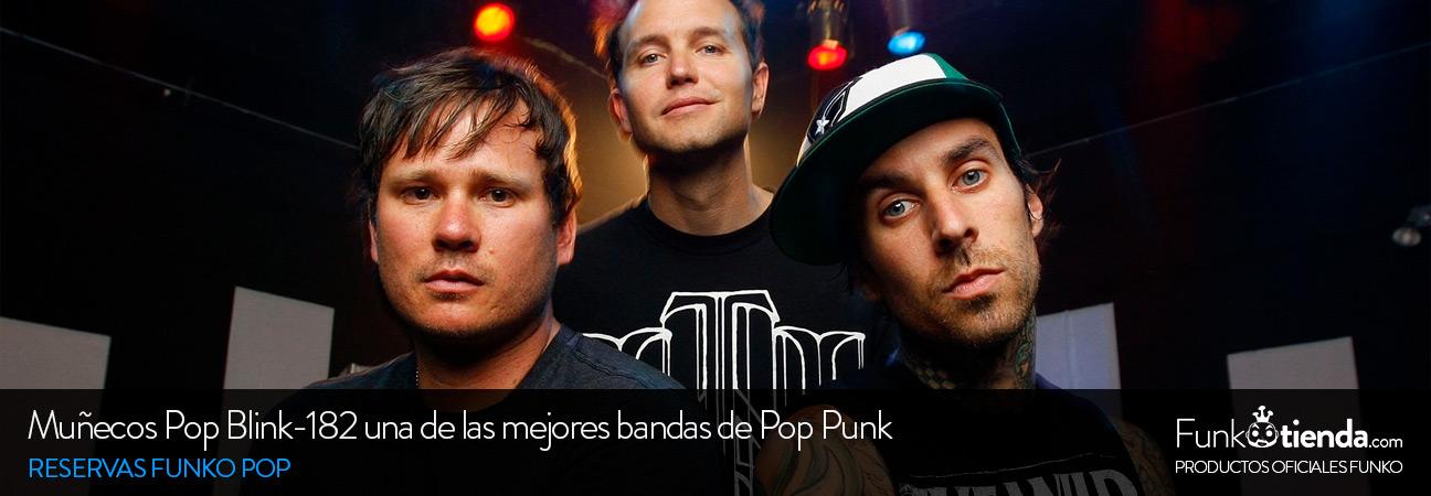 Muñecos Pop Blink-182, una de las mejores bandas de pop punk