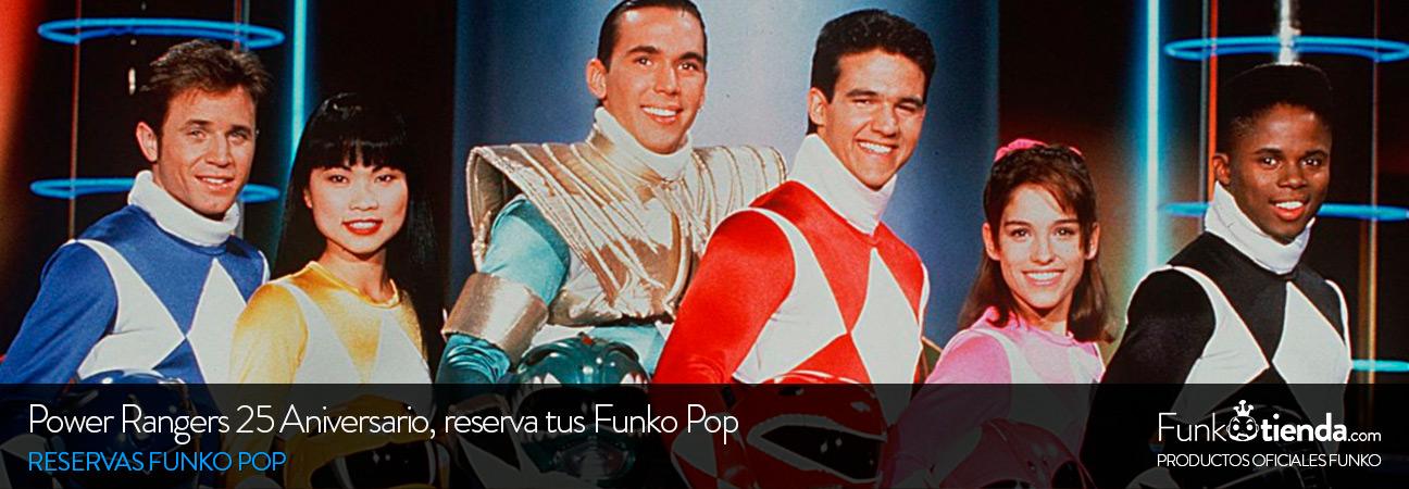 Power Rangers 25 aniversario: reserva tus Funko Pop