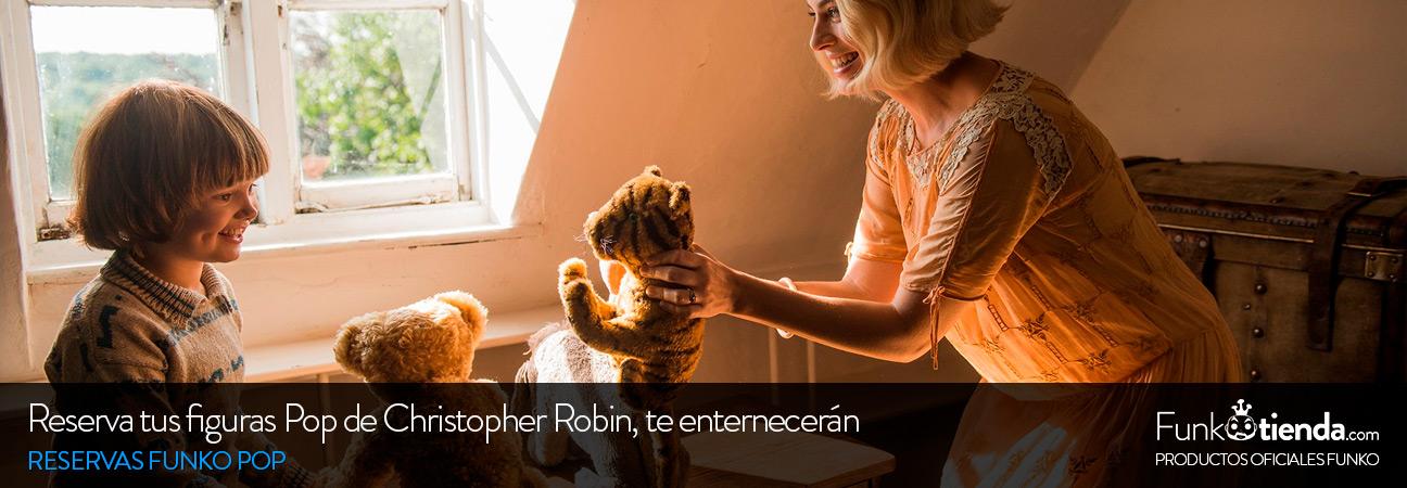 Reserva tus figuras Pop de Christopher Robin: te enternecerán