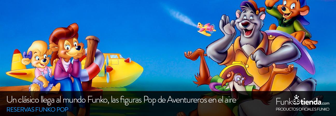 Un clásico Disney llega al mundo Funko Pop: Aventureros del aire